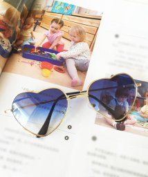 miniministore/サングラス レディース ハート型 グラデーション めがね グラサン メガネ 眼鏡/501180762