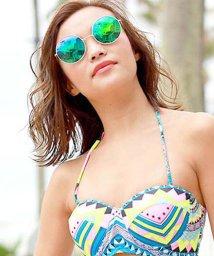 miniministore/サングラス 丸型 ラウンド ミラーサングラス めがね グラサン 夏 リゾート 海/501180764