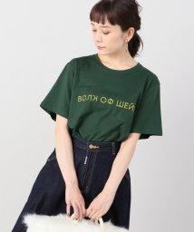 Spick & Span/【WALK OF SHAME】エンブロイダーロゴTシャツ/501181581