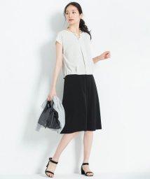 JIYU-KU /【マガジン掲載】NOIE ストレッチ フレアスカート(検索番号W36)/500653273