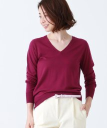 Demi-Luxe BEAMS/Demi-Luxe BEAMS / 16ゲージ Vネックニット/501091776
