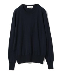 Demi-Luxe BEAMS/Demi-Luxe BEAMS / 16ゲージ クルーネックニット/501091777