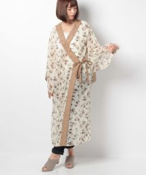 actuelselect/【GHOSPELL】Printed Kimono/501170242