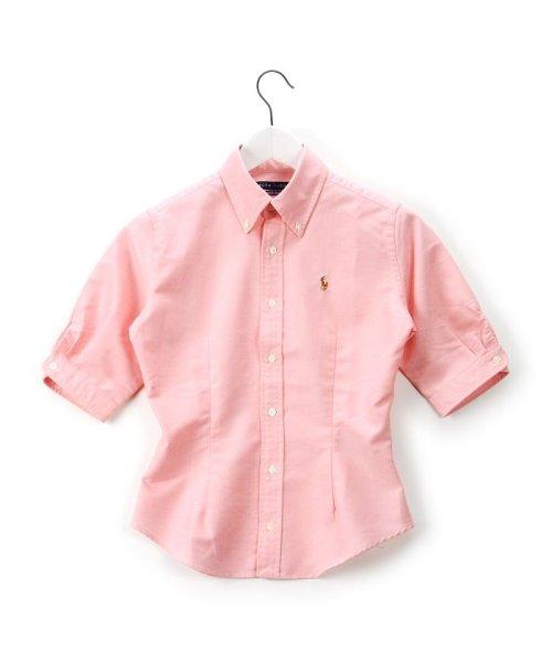 Polo Ralph Lauren(ポロラルフローレン)/ポロラルフローレン(レディース) シャツ 半袖/WMBLWOVP2D00007
