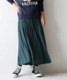 Spick & Span/ロングギャザースカート/501183668