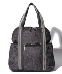 LeSportsac/DOUBLE TROUBLE BACKPACK ミッドナイトツイード/LS0020700
