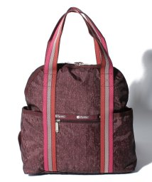 LeSportsac/DOUBLE TROUBLE BACKPACK トワイライトツイード/LS0020721