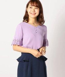 MISCH MASCH/袖刺繍ブラウス/501111016