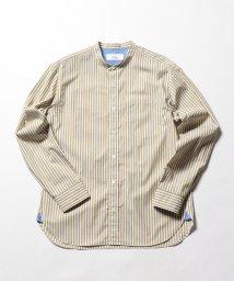 NOLLEY'S goodman/バンドカラーシャツ/501175602