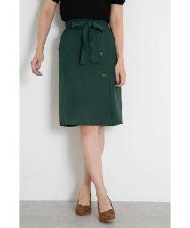 PROPORTION BODY DRESSING/サイド釦リボンベルトタイトスカート/501181808