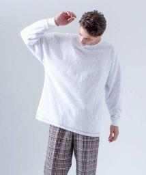 ABAHOUSE/【MYSELF ABAHOUSE】ピーチ起毛フットボールTシャツ【予約】/501183843