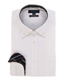 TAKA-Q/形態安定(ノーアイロン)スリムフィットボタンダウンパイピングビジネスドレスシャツ/501184481
