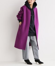 Spick & Span/≪予約≫Wフェイススタンドノーカラーコート◆/501185752