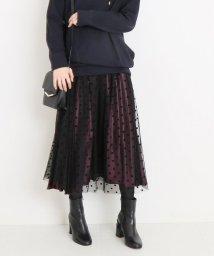 Spick & Span/≪予約≫4WAYサテンプリーツスカート◆/501185758