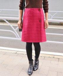 IENA/《予約》Wフェイスリバーシブルミニ丈スカート◆/501186047