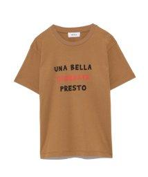 Mila Owen/3段ロゴTシャツ/501186097