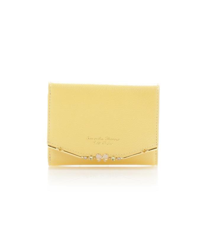 リボンバー金具シリーズ折財布
