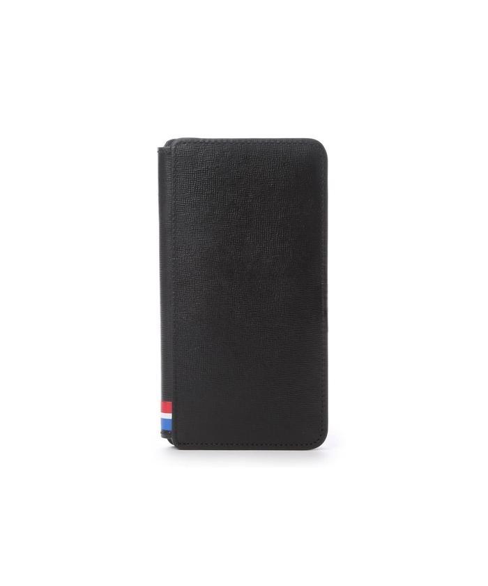 キングズバイサマンサタバサ トリコロールカラーiPhone6Plusケース メンズ ブラック ・ 【KINGZ by Samantha Thavasa】