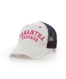 Samantha Thavasa UNDER25&NO.7/ツイルメッシュキャップ/501190674