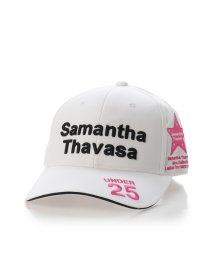 Samantha Thavasa UNDER25&NO.7/トーナメントキャップホワイト/501190678