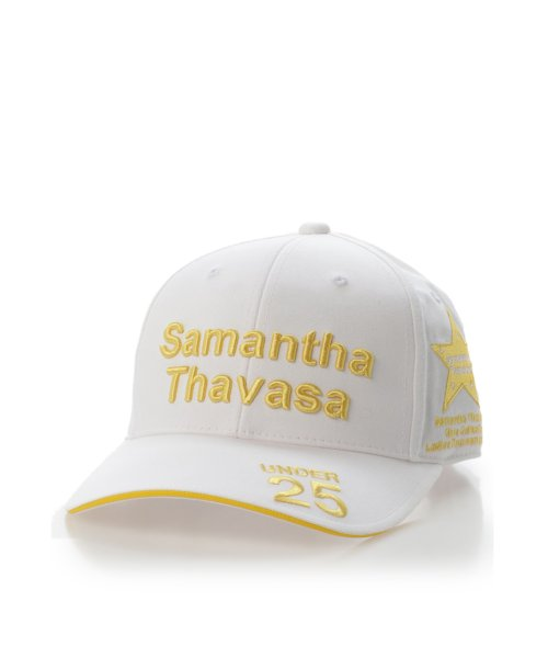 Samantha Thavasa UNDER25&NO.7(サマンサタバサアンダー)/トーナメントキャップホワイト/00771815190002