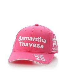 Samantha Thavasa UNDER25&NO.7/トーナメントキャップピンク/501190679