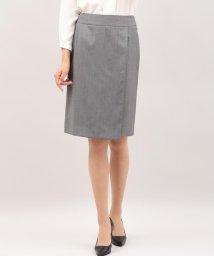 INED/シルクウールラップ風スカート/501192407