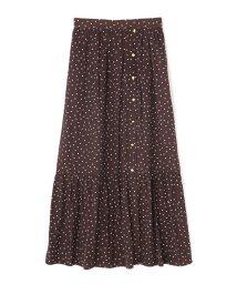 PROPORTION BODY DRESSING/《BLANCHIC》ランダムドットスカート/501192420
