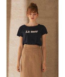 PROPORTION BODY DRESSING/《BLANCHIC》ロゴ刺しゅうTシャツ/501192426