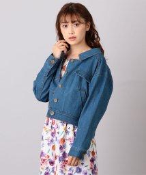 MIIA/抜き襟ジャケット/501176977
