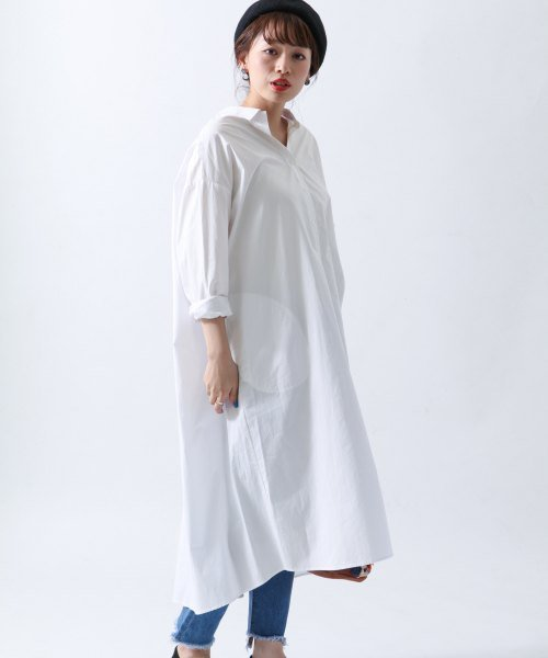 URBAN RESEARCH Sonny Label ロングシャツワンピース