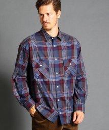 vital/ビッグシルエットチェックシャツ/501173258
