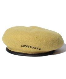 Lovetoxic/パイピングウールベレー/501179011