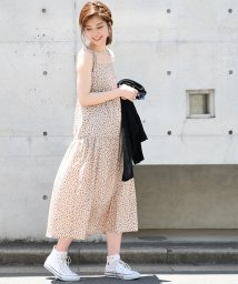 NICE CLAUP OUTLET/【natural couture】レトロガーリーティアードワンピース/501179740