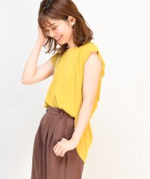 NICE CLAUP OUTLET/【natural couture】後ろWリボンTシャツ/501179741