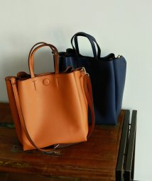 marjour/ECO LEATHER TOTE BAG/501195153