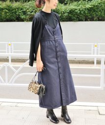 IENA/デニムジャンパースカート/501195193