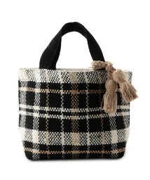 Adam et Rope Le Magasin/【Lilas Campbel】チェックパターントートバッグ/501115846