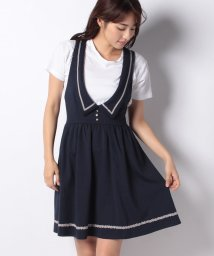 axes femme/襟デザインカットジャンドレ/501181526