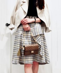 Noela/オリジナルチェック柄スカート/501195211