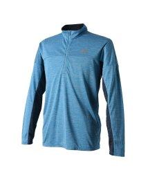 New Balance/ニューバランス/メンズ/R360 ヘザーグラフィックロングスリーブハーフジップTシャツ/501196149