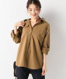 SLOBE IENA/スエードライクシャツ/501197056