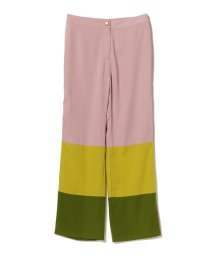 BEAMS OUTLET/sister jane / Color Blok Pants/501138628