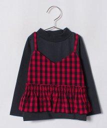 b-ROOM/Ptビスチェ+Tシャツセット/501182714
