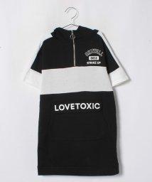 Lovetoxic/ハーフジップパーカワンピース/501182829
