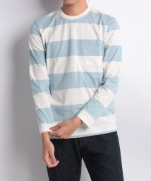 nano・universe/:40/2カラーTシャツ L/S/501185217