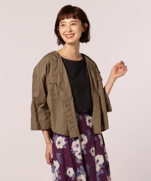 FREDY REPIT(フレディレピ)/ブロード胸ポケットシャツブルゾン/8-0012-5-24-003