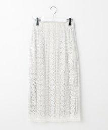 Ravissant Laviere/リバーレースハイウエストタイトスカート/501192120