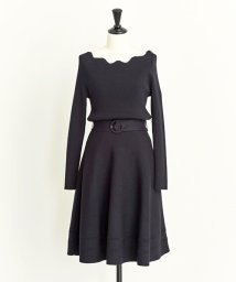 Noela/【美人百花10月号掲載】ベルテッドF&Fワンピ/501195232