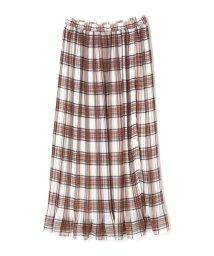 PROPORTION BODY DRESSING/《EDIT COLOGNE》チェックプリーツスカート/501197195
